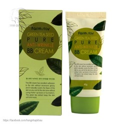 Kem nền BB  Farmstay green tea seed pure anti-wrinkle