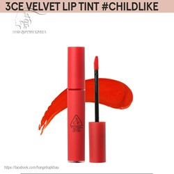 Son kem 3ce Velvet Lip Tint #Child Like