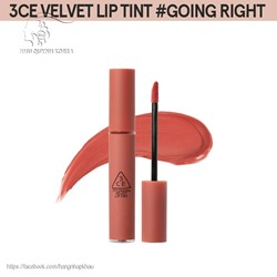 Son kem 3ce Velvet Lip Tint #Going Right