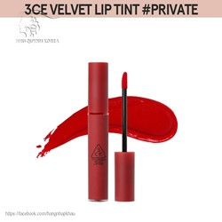 Son kem 3ce Velvet Lip Tint #Private