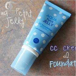 HOLIKA AQUA PETIT JELLY CC FOUNDATION 25 SPF